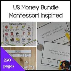 US Money Bundle - montessorikiwi