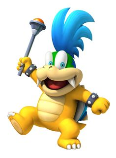 """Larry Koopa: """"I am the emperor of eavesdropping!"""""""