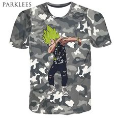 Dab Dance 3D Print T Shirt Men Brand New Short Sleeve Mens T Shirt Funny Hip Hop Camouflage T-Shirts Man Casual Slim Fit Tops #Affiliate