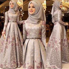 where to buy gothic wedding dresses Hijab Evening Dress, Hijab Dress Party, Hijab Style Dress, Muslim Wedding Dresses, Muslim Dress, Bridal Dresses, Hijab Chic, Dress Wedding, Muslim Fashion