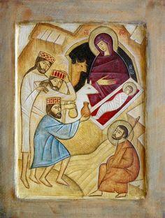 Adoration of the Magi / Nativity by Emmanuel Cusnaider