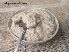 [Healthy] Cake Batter Oatmeal Pudding