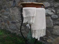 Handtücher - Handgewebte Handtücher aus BW-Hanf - ein Designerstück von…