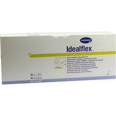 IDEALFLEX Binde 10 cm:   Packungsinhalt: 10 St Binden PZN: 03854292 Hersteller: PAUL HARTMANN AG Preis: 43,25 EUR inkl. 19 % MwSt. zzgl.…