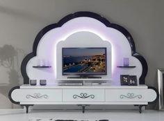 Best 40 modern TV wall units wooden tv cabinets designs for living room interior 2020 Tv Cabinet Design, Tv Wall Design, Tv Unit Design, Tv Unit Decor, Tv Wall Decor, Living Room Wall Units, Living Room Designs, Living Rooms, Tv Shelf Unit