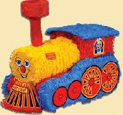 Real Fun Train Engine Shaped Pinata