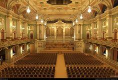 Philharmonie, Berlin -  computer modeled recreation. The Philharmonie was one of three great concert halls destroyed in World War II.
