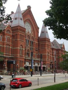 Cincinnati Music Hall / Over-The-Rhine, Cincinnati, OH, USA  | Honor it by attending events and saving Music Hall. |  Its history is unique and a bit mysterious.    http://en.wikipedia.org/wiki/Music_Hall_%28Cincinnati%29