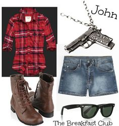 John Bender - the Criminal - (played by Judd Nelson) from The Breakfast Club