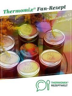 Pflaumenmus-echtes-ohne Gelierzucker und Schnickschnack von annemareile. Ein Thermomix ® Rezept aus der Kategorie Saucen/Dips/Brotaufstriche auf www.rezeptwelt.de, der Thermomix ® Community.