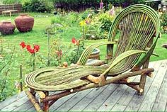 willow furniture | Willow Chaise Lounge | The Willow Farm