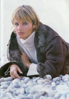 Helena Christensen by Neil Kirk for Vogue UK, October 1994