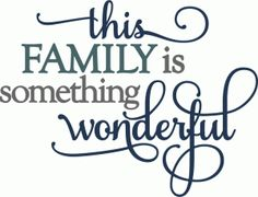 Silhouette Online Store: this family is wonderful - layered phrase