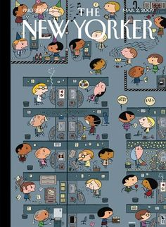 Ivan Brunetti's Covers For 'The New Yorker' Are Diverse And Personal [Art] - ComicsAlliance | Comic book culture, news, humor, commentary, and reviews