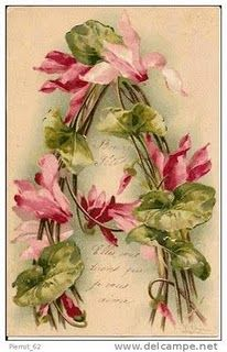 Catherine Klein (1861/1929) Prússia, alphabet letter A