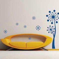 Poppy Tree Wall Art Design | Trendy Wall Designs