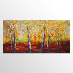 Landscape Painting Abstract Painting Canvas Art Abstract