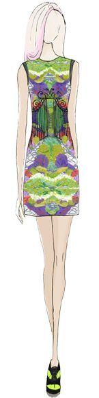 Designer Kleid in herrlichen Frühlingsfarben! Kerstin Tomancok Farb-, Typ-, Stil & Imageberatung