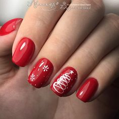 What Christmas manicure to choose for a festive mood - My Nails Xmas Nails, Holiday Nails, Prom Nails, Christmas Nails, Diy Nails, Nail Nail, Holiday Nail Designs, Diy Nail Designs, Acrylic Nail Designs