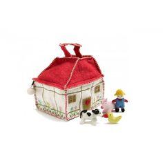 Filz Spiel Bauernhaus Tasche von En Gry & Sif