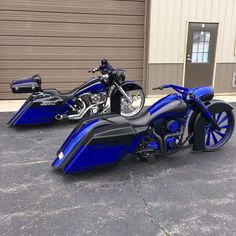 Nice baggers w/ our Chrome silencer wheel and and customized derailed wheel. Check out more of our great products @ www.smtmachining.com