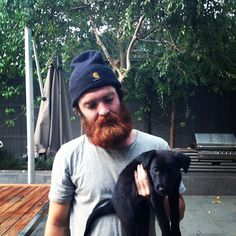 Chet Faker & Henry the dog