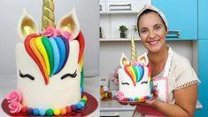 Mini cakes goat-zucchini and ricotta-spinach - Clean Eating Snacks Unicorn Cake Design, Diy Unicorn Cake, How To Make A Unicorn Cake, Rainbow Unicorn Party, Unicorn Birthday Parties, Birthday Cakes, Bolo My Little Pony, Salty Cake, Birthday Cake Decorating
