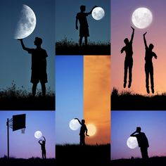 Albanian photographer Adrian Limani came up with a spectacular idea. He'd film his brother with the moon in the background in playful ...