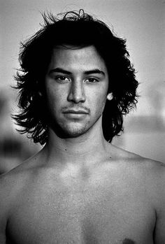 Keanu Reeves, 80s Photography by Karen Bystedt