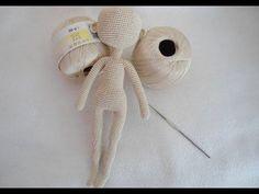Doll body crochet // Ольга Кузьмина