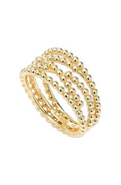 Free shipping and returns on LAGOS Caviar Multi-Row Ring at Nordstrom.com. Glorious rows of signature caviar beading compose a beautiful ring handcrafted from solid 18-karat gold.