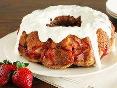 Strawberry Cream Cheese Monkey Bread~