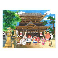 和味文化研究所   七福神「 金毘羅宮にて」 #七福神 #art