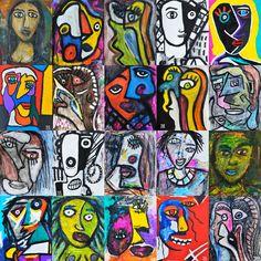Esencias de Mujer / Woman's Essence 2015 144 x 134 cm Técnicas mixtas / Mixed techniques