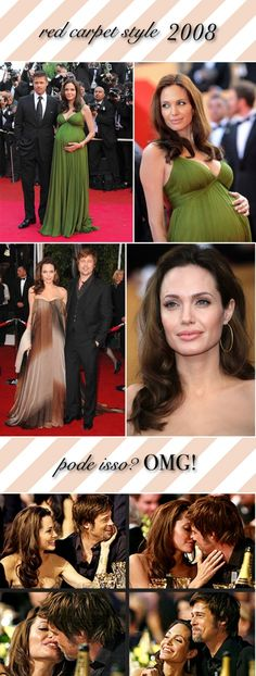 Angelina Jolie red carpet style - 2008