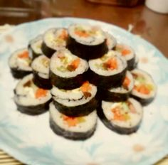 Korean kimbap from yours truly.