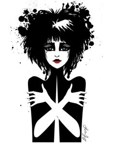 Siouxsie Sioux Art Print by Leilani Joy | Society6