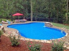 Lagoon Inground Swimming Pool Kits