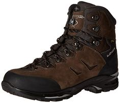 Lowa Men's Camino GTX WXL Hiking Boot, Dark Gray/Black, 10 W US ** Check out the image by visiting the link.