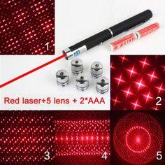 GOREAD L6 light pen in office AAA light pointer star light LED Laser Red Laser with star lens $9.99