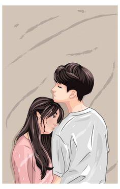 Cute Couple Drawings, Cute Couple Art, Girly Drawings, Anime Couples Drawings, Cute Anime Couples, Wattpad Cover Template, Cover Wattpad, Cute Couple Wallpaper, Anime Wallpaper Live