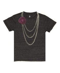 Granite Rose Pearl Tee - Toddler & Girls #zulily #zulilyfinds