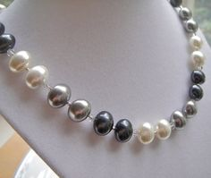 like the different colored pearls