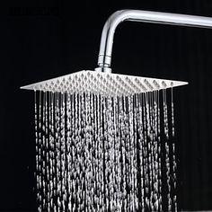 8 pollici in acciaio inox 304 precipitazioni piazza soffione doccia – EUR € 34.29