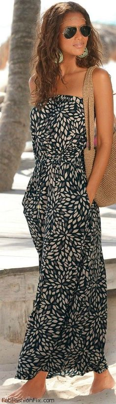 Watch: 30 summer looks with maxi dresses...