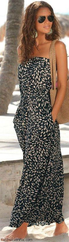 FabFashionFix - Fabulous Fashion Fix   Style Watch: 30 summer looks with maxi dresses