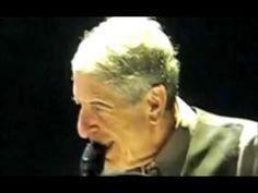 Hallelujah LIVE Leonard Cohen, Still the best version, his version.
