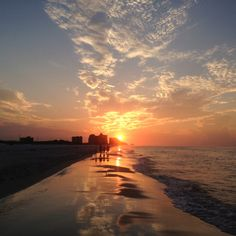 Alabama Gulf Coast sunrise - http://dld.bz/AlabamasCoastalConnection Plan your Alabama Coastal Connection Scenic Byway trip using the interactive map