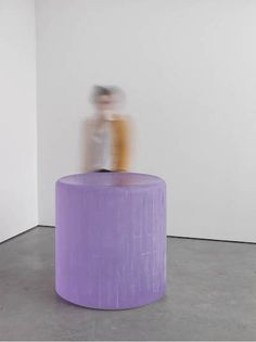 roni horn. untitled, 2013. 3,300 lb glass sculpture. lacma