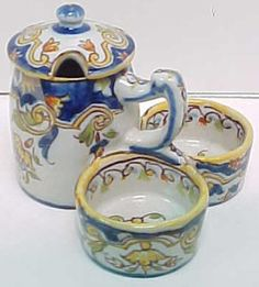 French Faience, love this old stuff